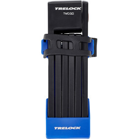 Trelock FS 200/75 TWO.GO Cykellås 75 cm blå